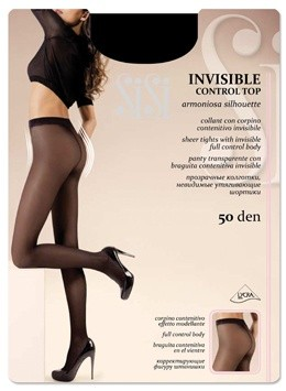 Колготки SiSi (СиСи) Invisible 50 (control top)