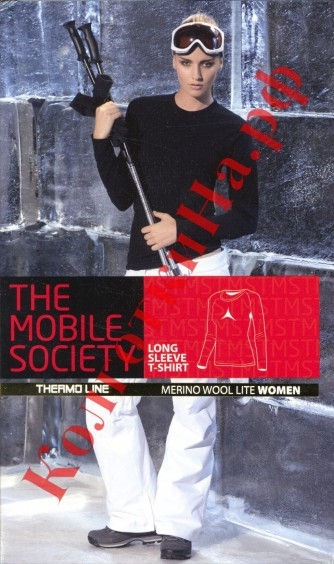 Лонгслив Sensi (Сенси) The Mobile Society Maglia women (manica lunga, merino donna)