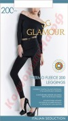 Леггинсы Glamour (Гламур) Thermo Fleece Leggings (200, тёплые)