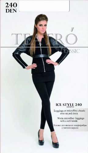 Леггинсы TEATRO (Театро) Ice Style legg. (Fashion 240 Leggins тёплые с начёсом)