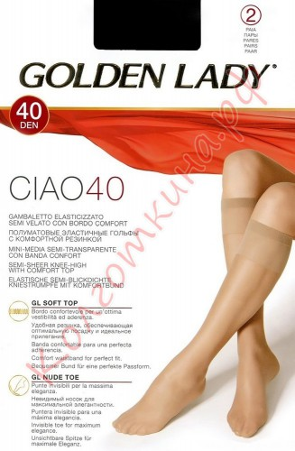 Гольфы Golden Lady (Голден Леди) Ciao 40 (gambaletto)