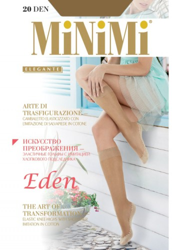 Гольфы MiNiMi (МиНиМи) Eden gb (20, gambaletto)