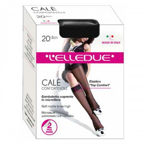 Гольфы L\'Elledue (Элледуэ) Cale gb (20 gambaletto)