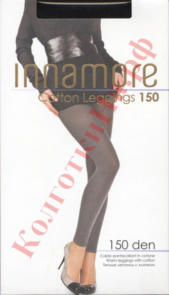 Леггинсы INNAMORE (Иннаморе) Cotton (150 Leggings тёплые)